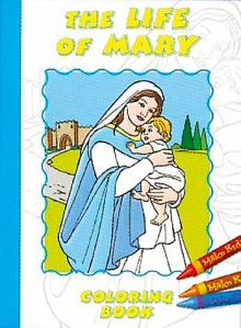 Life of Mary Colouring book by Sr Karen Cavanagh